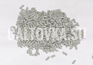 Галтовочные тела на керамической основе в форме мелких цилиндров